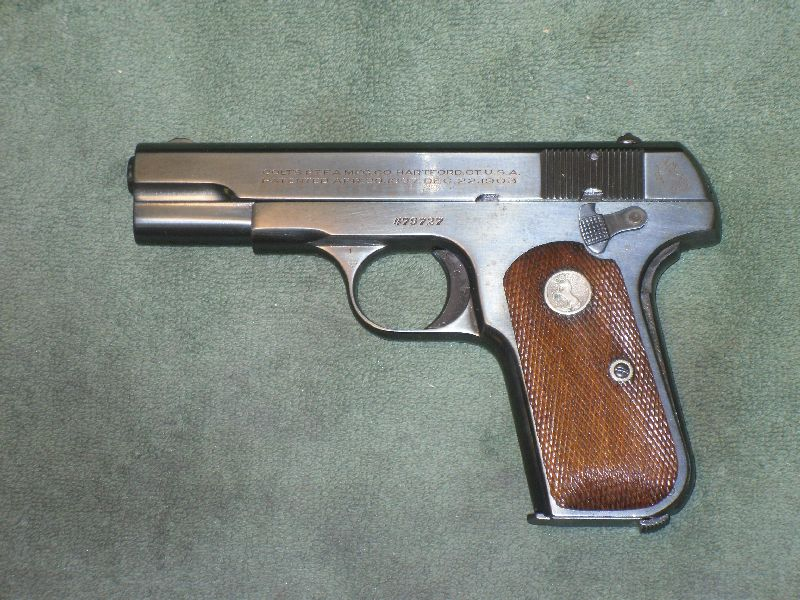 Colt 1903 Pocket Niter Blue 2